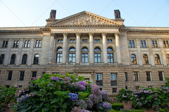 The Bundesrat in Berlin - Stock Photo - Images