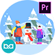 Christmas Activity Scenes | Premiere Pro MOGRT - VideoHive Item for Sale