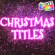 Christmas Magic Titles | FCPX
