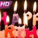 Fluttering Holiday Candles On The Cake - VideoHive Item for Sale