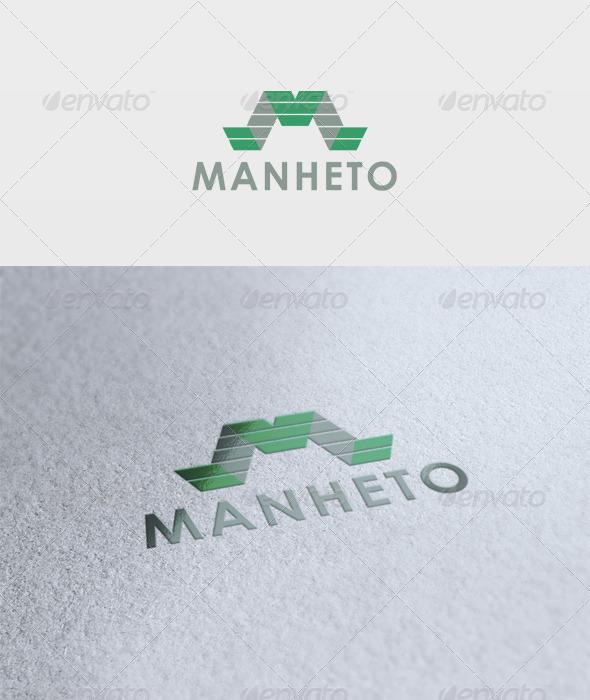 Manheto Logo - Letters Logo Templates