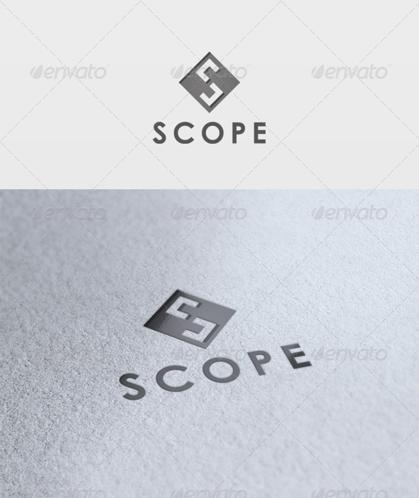 Scope Logo - Letters Logo Templates