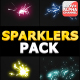 Sparklers Pack | Motion Graphics - VideoHive Item for Sale