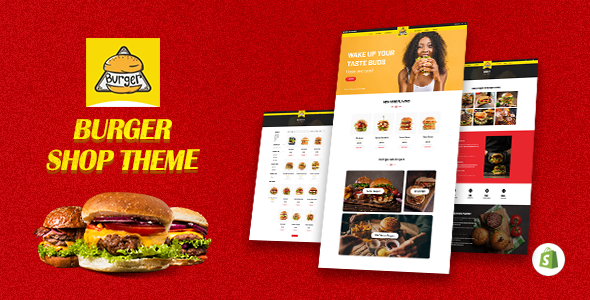 Burgs - Food Delivery Shopify Theme
