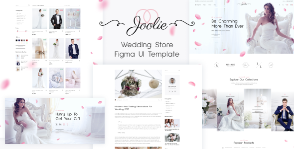 Extraordinary Joolie - Wedding Store HTML Template