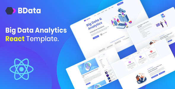 B-Data - Big Data & Analytics React Template