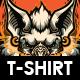 Kōmori T-shirt Design