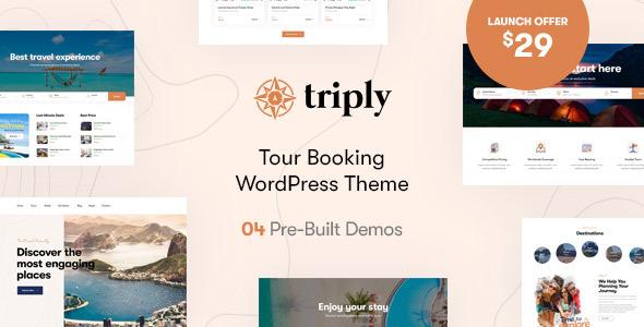 Triply - Tour Booking WordPress Theme