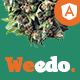 Weedo | Multivendor Marijuana Angular Template