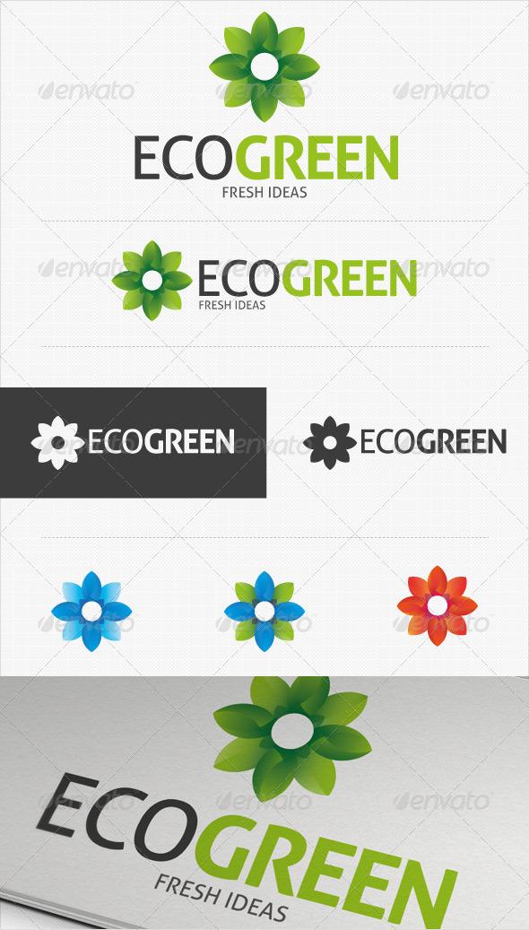 Eco Green Logo - Symbols Logo Templates