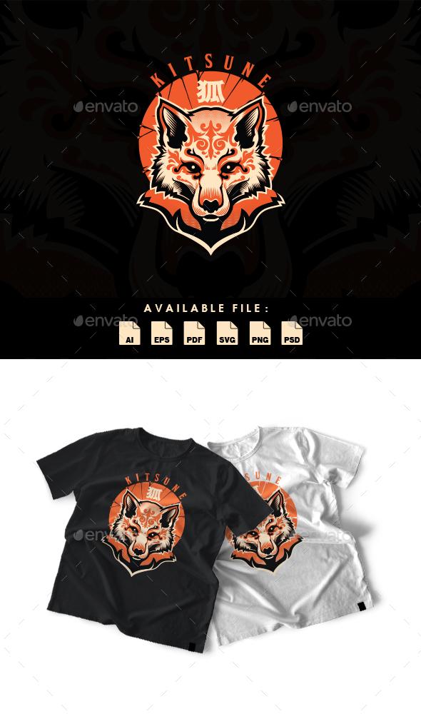 Kitsune T-shirt Design