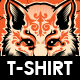 Kitsune T-shirt Design
