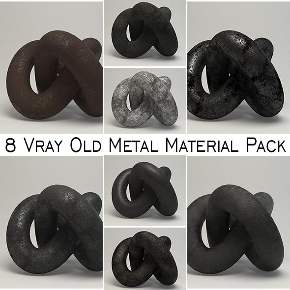 Old Metal Material Pack