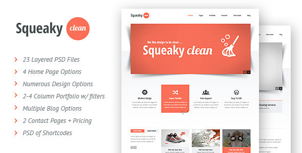 Squeaky Clean | PSD