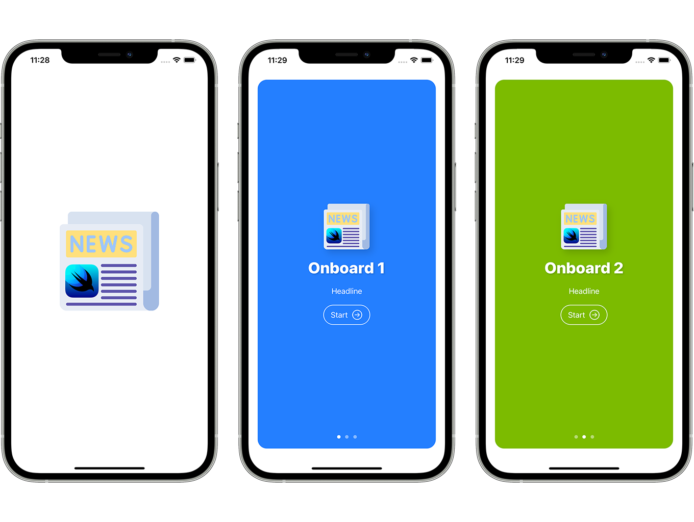 Blog and News SwiftUI iOS App for WordPress Site with AdMob, Firebase Push Notification and Widget - 2