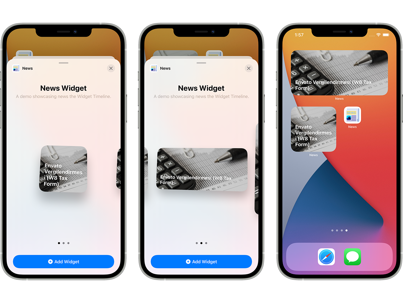 Blog and News SwiftUI iOS App for WordPress Site with AdMob, Firebase Push Notification and Widget - 8