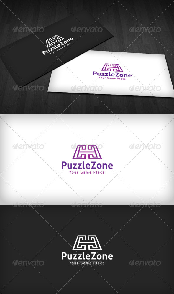 Puzzle Zone Logo - Vector Abstract
