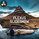 Slideshow - Elegant Plexus // DaVinci Resolve - VideoHive Item for Sale