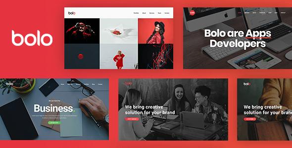 Bolo – Creative Multipurpose Website Template