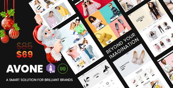 Avone - Multipurpose Shopify Theme Nulled