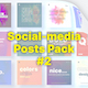 Social Media Posts Pack #2 - VideoHive Item for Sale