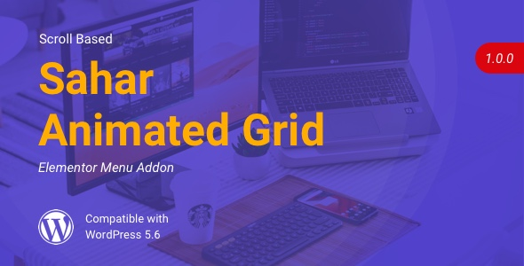 Sahar Animated Grid | Elementor Image Grid
