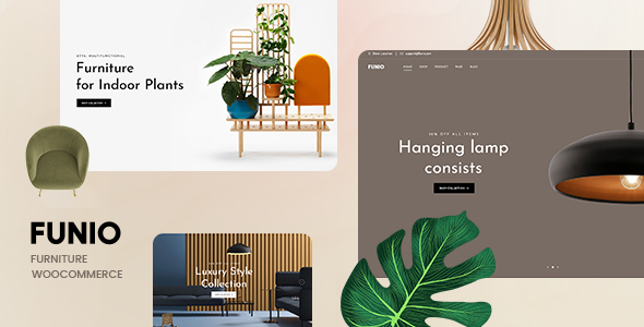 Funio – Furniture WooCommerce WordPress Theme
