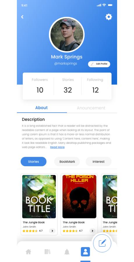 React Native Soul Write App - 17