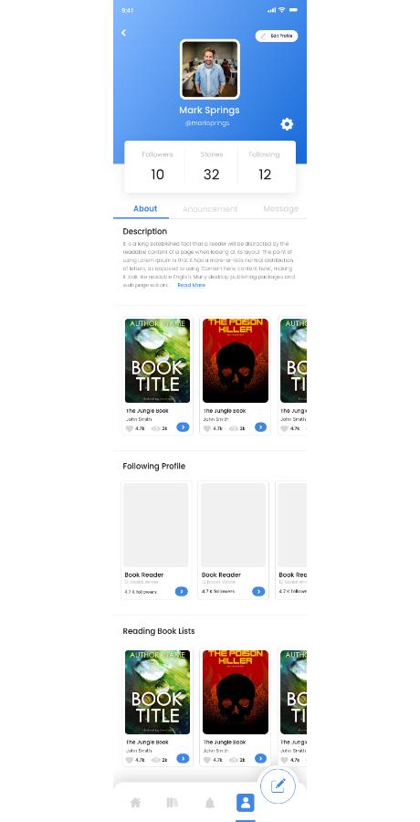 React Native Soul Write App - 43