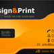 Orange Business Card Template - GraphicRiver Item for Sale