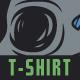 Mushroom Skull T-Shirt Design