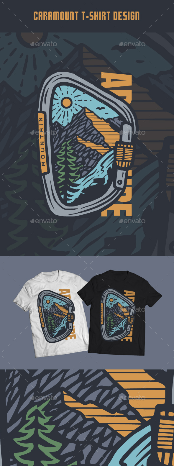 Caramount T-Shirt Design