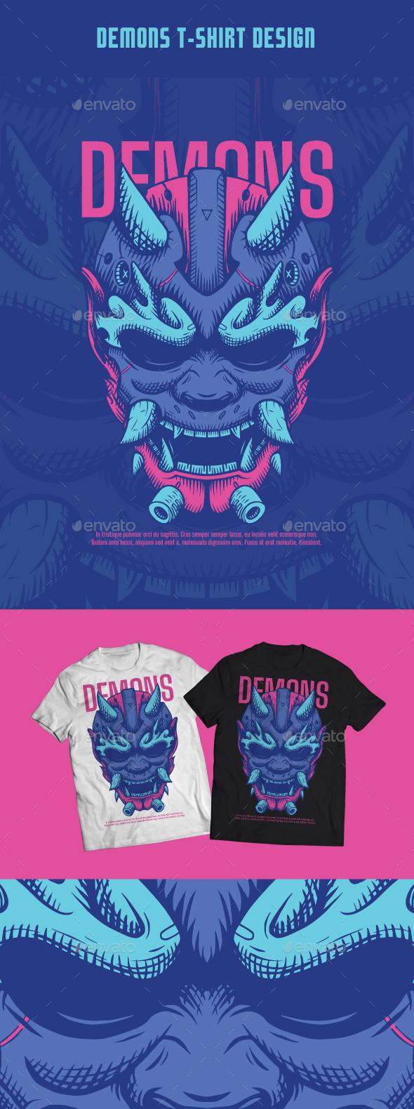 Demons T-Shirt Design