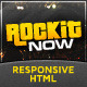 Rockit Now - Music Band Template Nulled