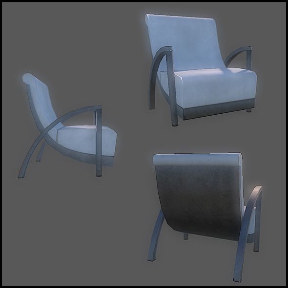 Generic Designer Chair - 3DOcean Item for Sale