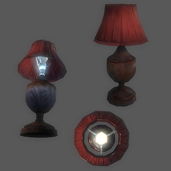 Generic Table lamp - 3DOcean Item for Sale