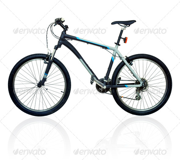 Mountain bicycle bike - Stock Photo - Images