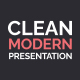 Clean Modern Presentation - VideoHive Item for Sale