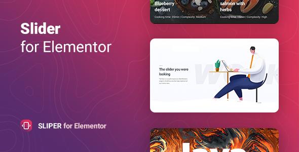 Sliper – Full-screen Slider for Elementor
