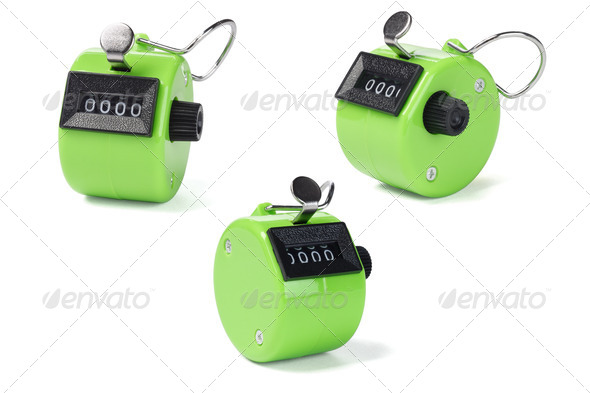 Tally Counters - Stock Photo - Images
