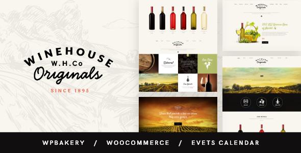 Nice Wine House | Vineyard & Restaurant Liquor Store WordPress Theme