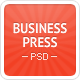 Business News - Premium Magazine PSD Template Nulled