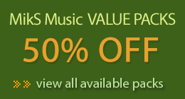 Music Packs - Save Big!