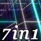 Grid Neon - VJ Loop Pack (7in1) - VideoHive Item for Sale