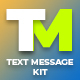 Clean Text Message Kit/ Autoresize - VideoHive Item for Sale