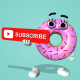 Female Donut - Youtube - VideoHive Item for Sale