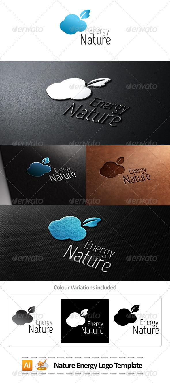 Nature Energy Logo Template  - Nature Logo Templates
