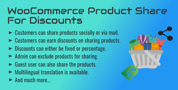 WooCommerce Product Share For Discounts | Share to Earn