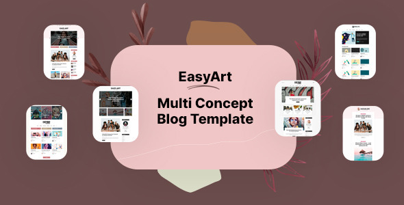 Lovely Easyart - Multiconcept Blog HTML Template