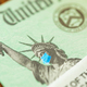 United States IRS Stimulus Check with Statue of Liberty Wearing Medical Face Mask - PhotoDune Item for Sale